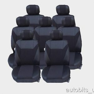 FULL SET 5X GREEN SEAT COVERS CUSHION FOR 5 SEATER PEUGEOT 307 SW 806 807 PARTNE