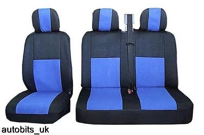 2+1 GREY COMFORT FABRIC SEAT COVERS FOR MERCEDES VITO W638 W639 SPRINTER W901