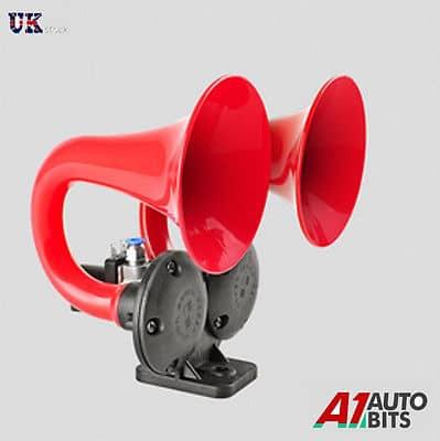 24v 125db Air Blast Loud Horn Electric Valve For Truck Rv