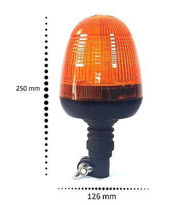 Flexible LED Flashing Beacon Ford New Holland John Deere Massey Ferguson Tractor