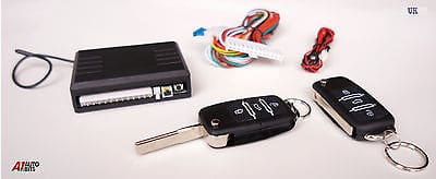 Remote Central Locking Kit For Haa Keys Blanks For Skoda